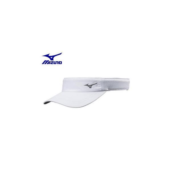 mizuno/ミズノ  J2MW8002-01 ランニングキャップ (ホワイト)