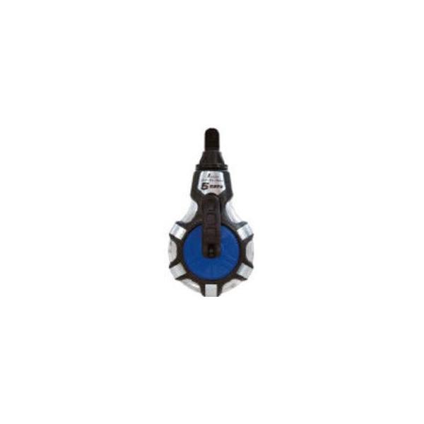 SHINWA/シンワ測定  チョークライン 5倍速手巻 粉付3倍太糸ブルー 77560
