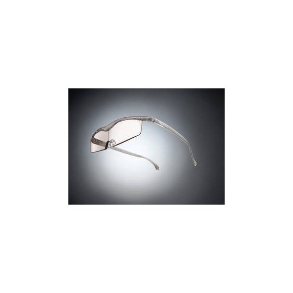 Hazuki Company/ハズキ  【Hazuki/ハズキルーペ】メガネ型拡大鏡 コンパクト カラーレンズ 1.6倍 チタンカラー 改良版