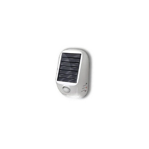 YAZAWA  YAZAWA 屋外用ソーラー式LEDセンサーライト NL57WH