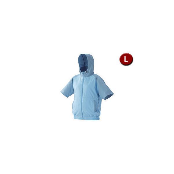 IRIS OHYAMA/アイリスオーヤマ  カジュアルクールウェア 半袖セット (フード有り) Lサイズ CCHS-L02-A