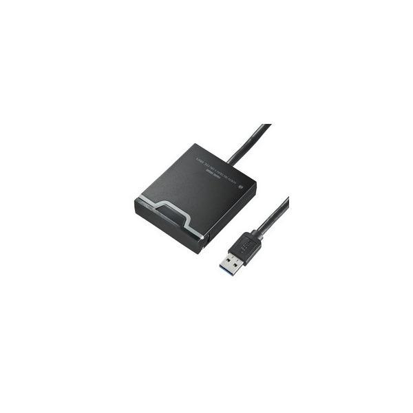 サンワサプライ  USB3.0 SDカードリーダー ADR-3SDUBK