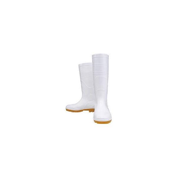 OTAFUKU GLOVE/おたふく手袋  安全耐油長靴 白 27.0cm JW709-WH-270