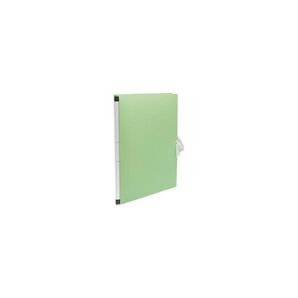 sedia/セキセイ  のびーるファイルPP製 A4 グリーン AE-1250-30 PP表紙 A4判タテ型 外ひも付(背幅17〜117mm)