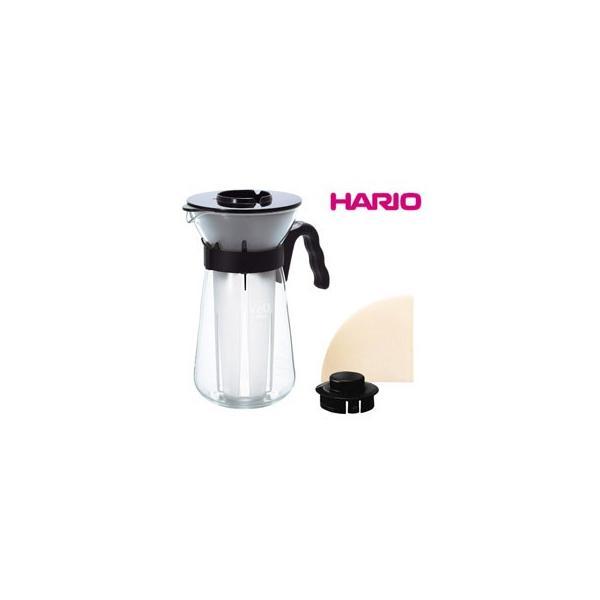 HARIO/ハリオ  VIC-02B V60 アイスコーヒーメーカー (ペーパーフィルター10枚入) 【700ml】