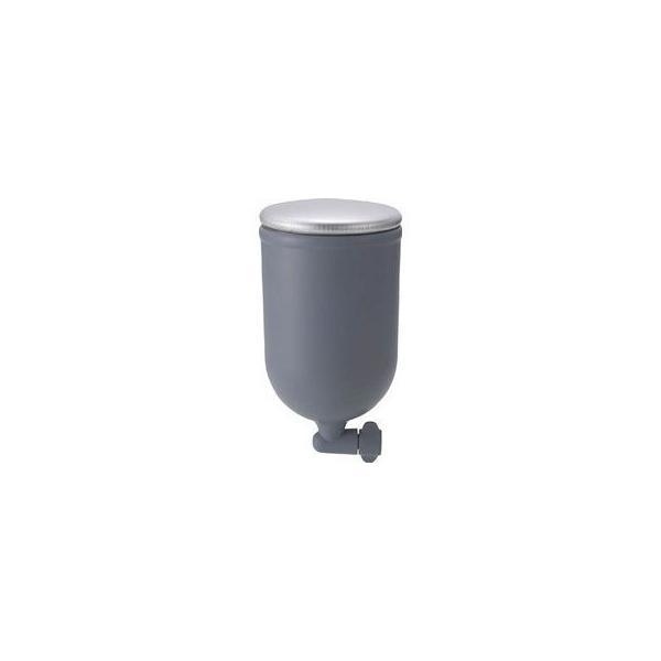 TRUSCO/トラスコ中山  塗料カップ 重力式用 容量0.4L フッ素コートタイプ TGC-05