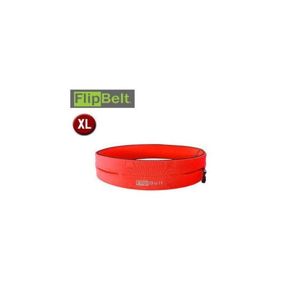 FlipBelt/フリップベルト  FBN スポーツウエストポーチ (オレンジ) 【XLサイズ】