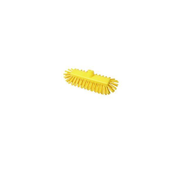 BURRTEC/バーテック  バーキュートプラス ワイドデッキブラシヘッド 黄 69401544