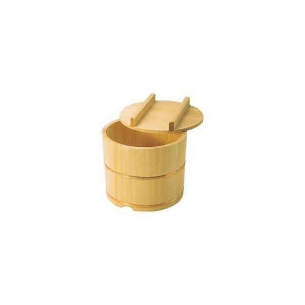 さわら製 飯枢(上物)のせ蓋型 18cm