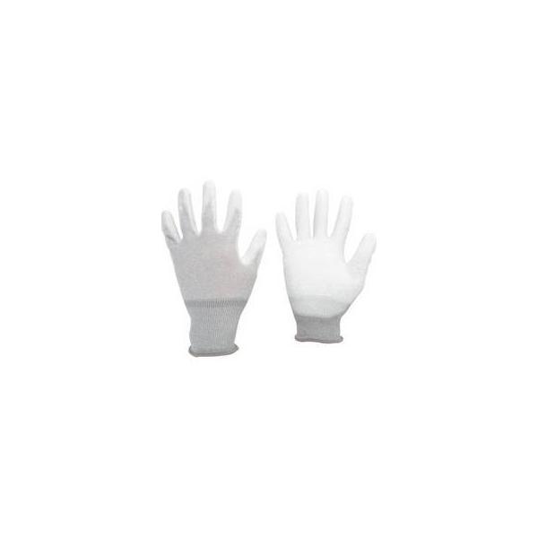MIDORI ANZEN/ミドリ安全  静電気拡散性手袋(手のひらコート)Lサイズ 10双入MCG600N-L