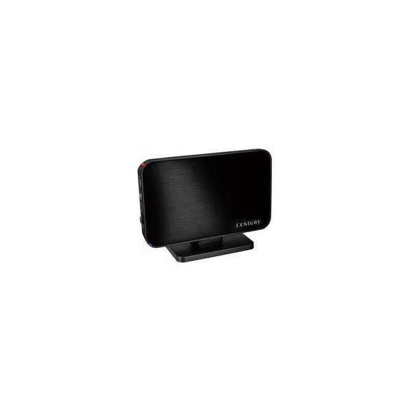 センチュリー  1分BOX USB3.0&eSATA SATA6G HDDケース 工具不要 COM35EU3B6G