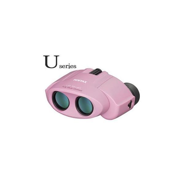 PENTAX/ペンタックス  タンクロー UP 10×21(ピンク) 双眼鏡 【ポロプリズム】【10x21】
