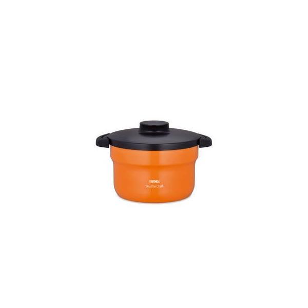 サーモス  真空保温調理器シャトルシェフ 3.0L オレンジ