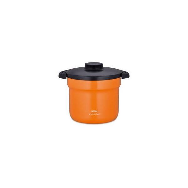 サーモス  真空保温調理器シャトルシェフ 4.5L オレンジ