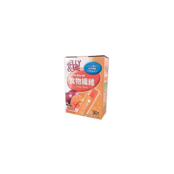北辰フーズ  JELLY&ME 食物繊維 マンゴーゼリー スティック(10g×30個入)