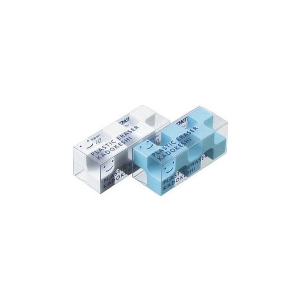 KOKUYO/コクヨ  ケシ-U750-1 消しゴム「カドケシプチ」鉛筆用 ブルー・ホワイト2色