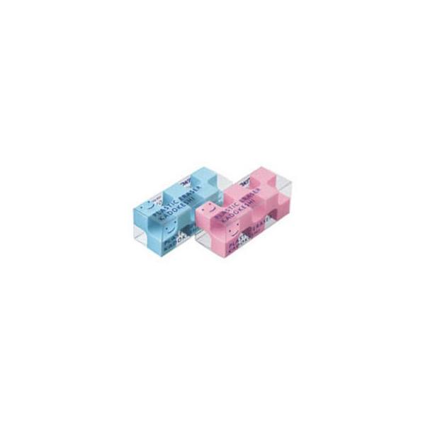 KOKUYO/コクヨ  消しゴム鉛筆用ピンク・ブルー2色 ケシ-U750-3