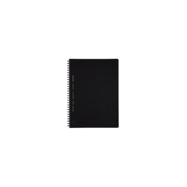 KOKUYO/コクヨ  ソフトリングビジネス方眼罫70枚B5黒 ス-SV407S5-D