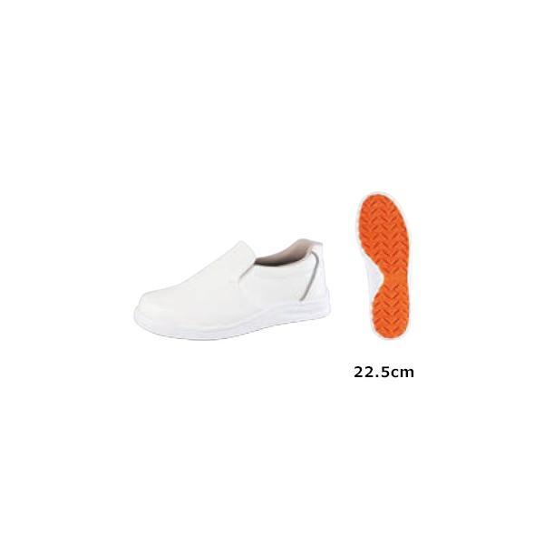 ノサックス 厨房靴 グリップキング 先芯入 白 gKS−W 22.5cm