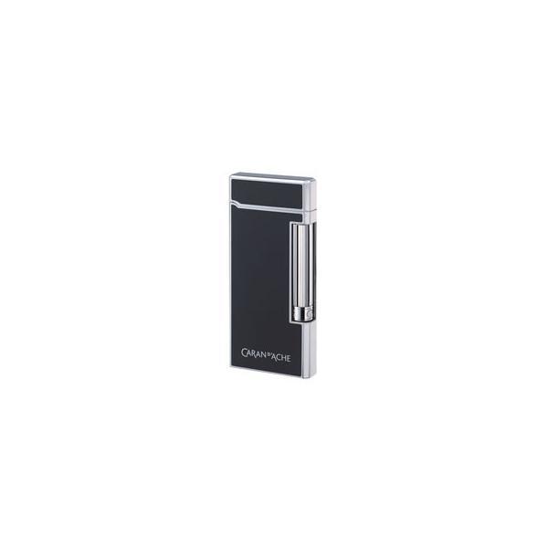 CARAN dACHE/カランダッシュ  CD101007 10型 フリントガスライター DSプリント黒