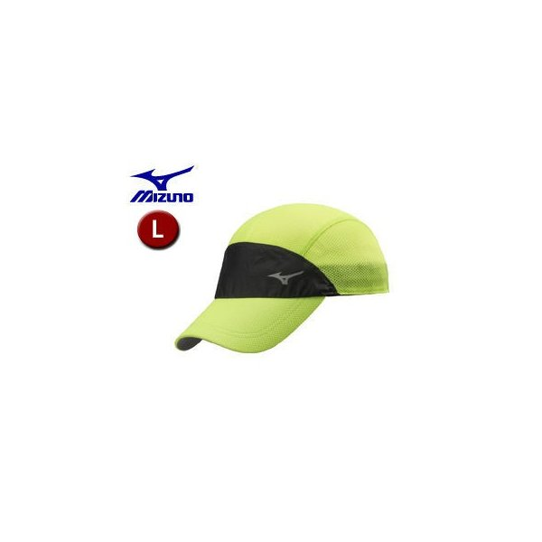 mizuno/ミズノ  【在庫限り】J2MW8001-31 ランニングキャップ  【L】 (セーフティーイエロー)