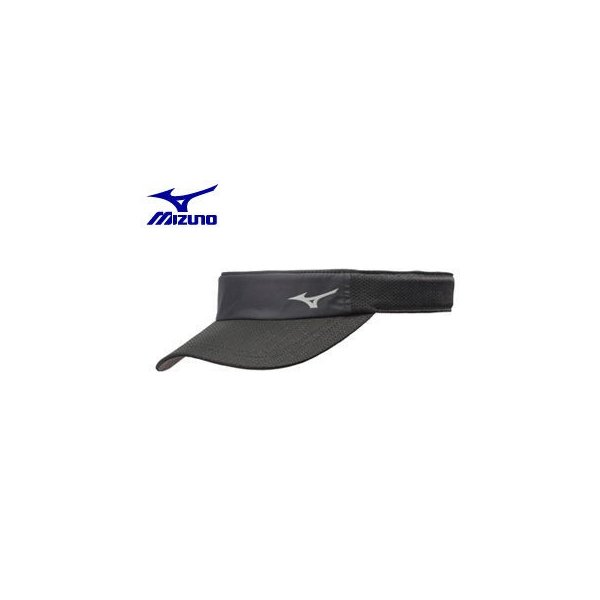 mizuno/ミズノ  J2MW8002-09 ランニングキャップ (ブラック)