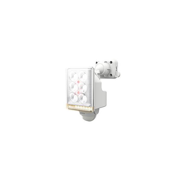 musashi/ムサシ  RITEX/ライテックス 9W×1灯 フリーアーム式 LEDセンサーライト リモコン付 LED-AC1009