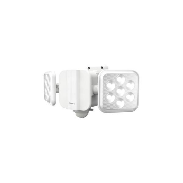 musashi/ムサシ  RITEX/ライテックス 5W×2灯 フリーアーム式 LEDソーラーセンサーライト S-220L