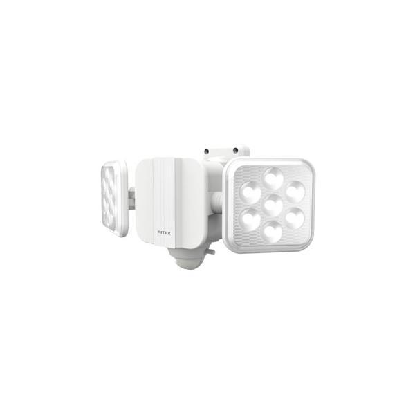 musashi/ムサシ  RITEX/ライテックス 5W×2灯 フリーアーム式 LED乾電池センサーライト LED-270