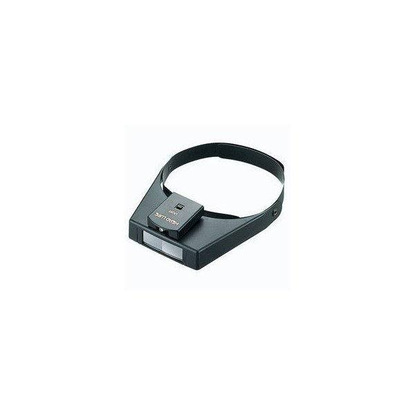 SHINWA/シンワ測定  ルーペ W-3 双眼ヘッドルーペ ライト付 75656