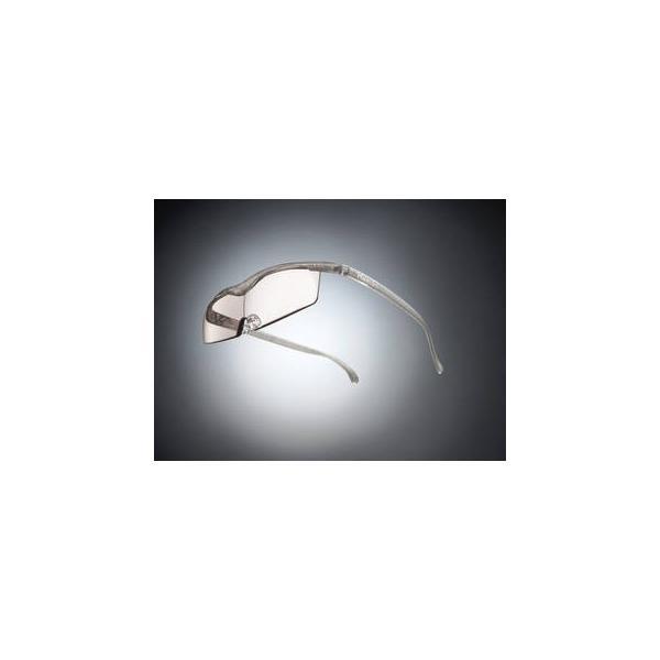 Hazuki Company/ハズキ  【Hazuki/ハズキルーペ】メガネ型拡大鏡 コンパクト カラーレンズ 1.32倍 チタンカラー 改良版