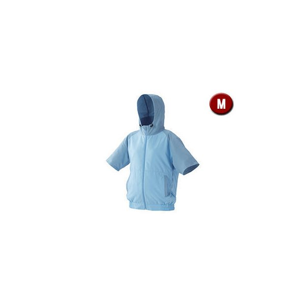 IRIS OHYAMA/アイリスオーヤマ  カジュアルクールウェア 半袖セット (フード有り) Mサイズ CCHS-M02-A
