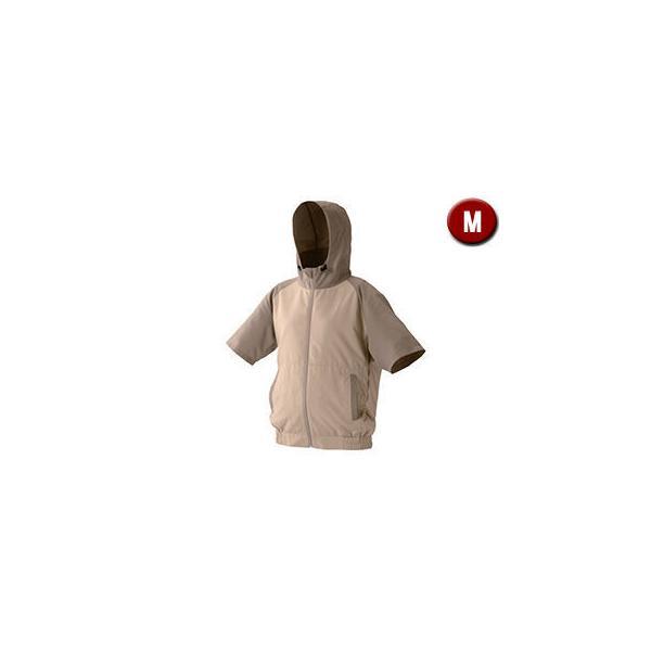 IRIS OHYAMA/アイリスオーヤマ  カジュアルクールウェア 半袖セット (フード有り) Mサイズ CCHS-M02-BE