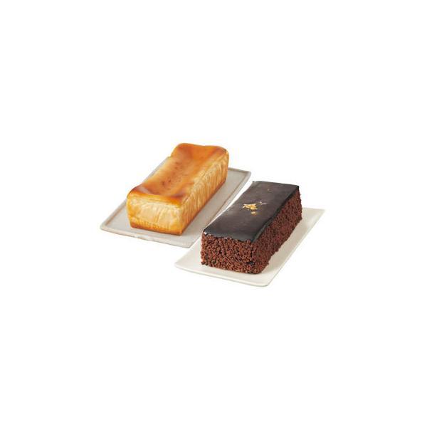 — 極 — 濃厚ベイクドチーズケーキ&−艶−至福のショコラノワール