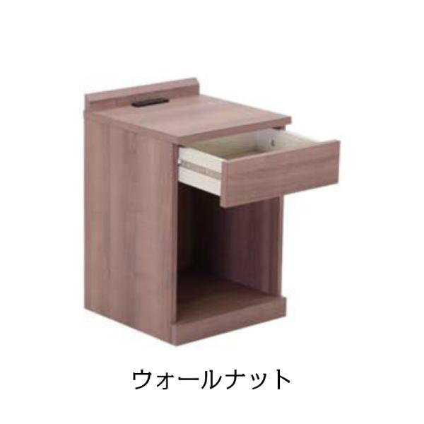 ナイトテーブル 2口コンセント付き 引き出し マイアミ ベッドサイドテーブル ミニテーブル|murauchikagu|04