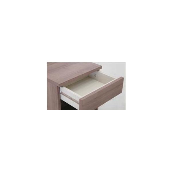 ナイトテーブル 2口コンセント付き 引き出し マイアミ ベッドサイドテーブル ミニテーブル|murauchikagu|10