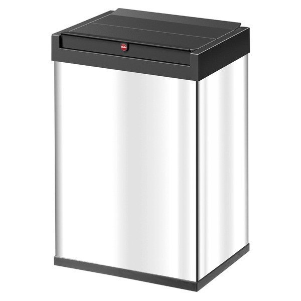 Hailo 激安通販 本物 ハイロ ニュービッグボックス40L ステンレス ゴミ箱 ダストBOX 60084
