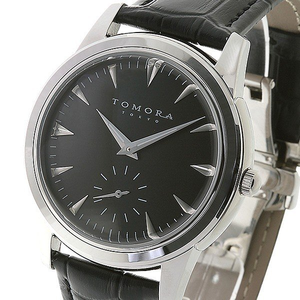 TOMORA 在庫処分 TOKYO トモラトウキョウ 販売期間 限定のお得なタイムセール 日本製 T-1602-SSBK 腕時計