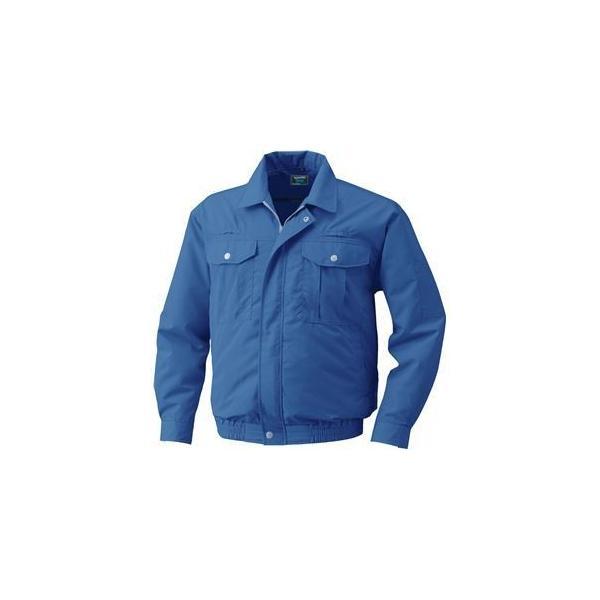 フルハーネス仕様 空調服 40%OFFの激安セール 作業着 〔ファンカラー:グレー カラー:ダークブルー 4L〕 ポリエステル ついに入荷 リチウムバッテリー KU9054F