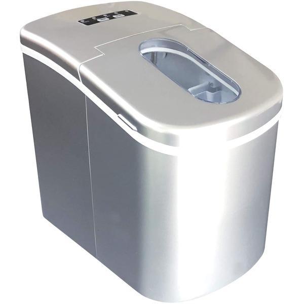 Sun ギフ_包装 Ruck 家庭用 高速製氷機 SEAL限定商品 シルバー 最短6分 SR-HIM01-SV 卓上