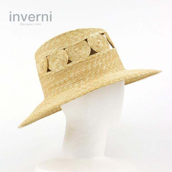 868ed6a80ac86c 麦わら帽子 inverni インヴェルニ ハット 中折れ帽 レディース メンズ 4万2984 ストローハット ...