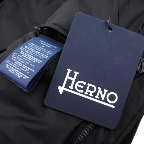 ヘルノ HERNO メンズ ダウン ダウンコート ダウンジャケット PI0468U12004 フード アウター ブランド 秋冬 9389/ブラック 50 52 あすつく|museum8|10