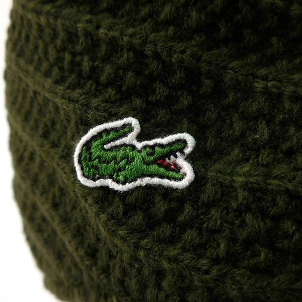 ラコステ メンズ 帽子 ハット レディース LACOSTE ハンチング ベレー帽 9936 ウール ブランド L3329 春秋 カーキ あすつく メール便|museum8|09