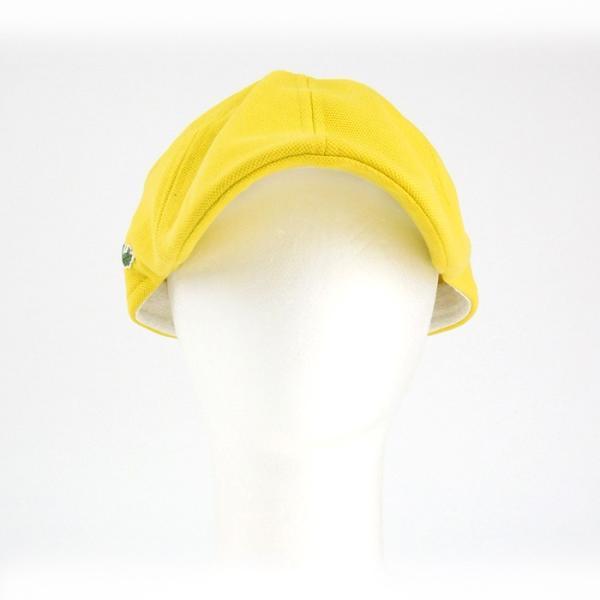 ラコステ メンズ 帽子 ハット レディース LACOSTE ハンチング ベレー帽 キャスケット コットン ブランド 春 夏 イエロー あすつく メール便|museum8|02