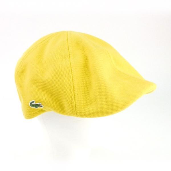 ラコステ メンズ 帽子 ハット レディース LACOSTE ハンチング ベレー帽 キャスケット コットン ブランド 春 夏 イエロー あすつく メール便|museum8|07