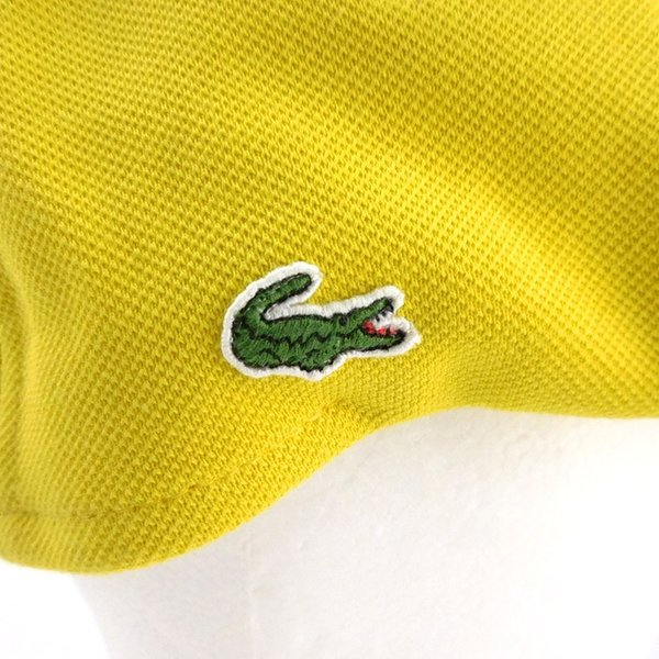 ラコステ メンズ 帽子 ハット レディース LACOSTE ハンチング ベレー帽 キャスケット コットン ブランド 春 夏 イエロー あすつく メール便|museum8|09