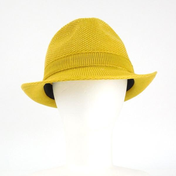 ラコステ メンズ 帽子 中折れ帽子 麦わら帽子 レディース LACOSTE ストローハット 1万0584 UV コットン ブランド 春 夏 イエロー 58 あすつく museum8 02