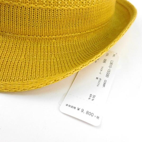 ラコステ メンズ 帽子 中折れ帽子 麦わら帽子 レディース LACOSTE ストローハット 1万0584 UV コットン ブランド 春 夏 イエロー 58 あすつく museum8 07