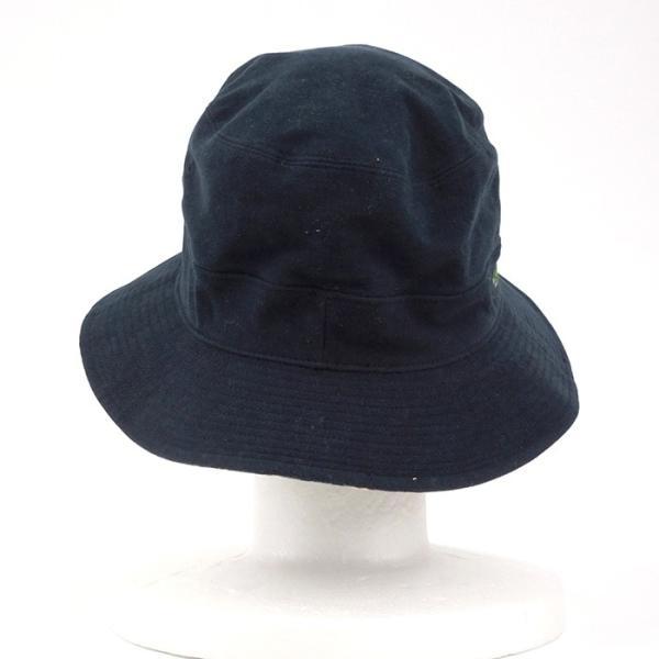 ラコステ メンズ 帽子 レディース LACOSTE バケットハット サファリハット 7452 チェック柄 ブランド 秋 冬 ネイビー あすつく メール便|museum8|07