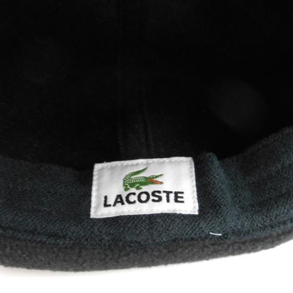 ラコステ メンズ フライトキャップ キャップ LACOSTE 帽子 ハット 7992 レディース 耳あて ウール ブランド 秋冬 グレー 58 あすつく|museum8|08
